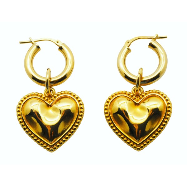 """Cuore"" hoops"