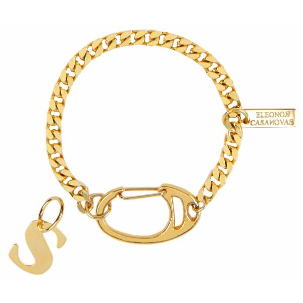 """""""Vintage chain with XL clasp"""" bracelet"""