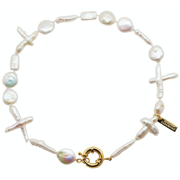 """Collar """"For Pearls Lovers"""" con o sin Inicial"""