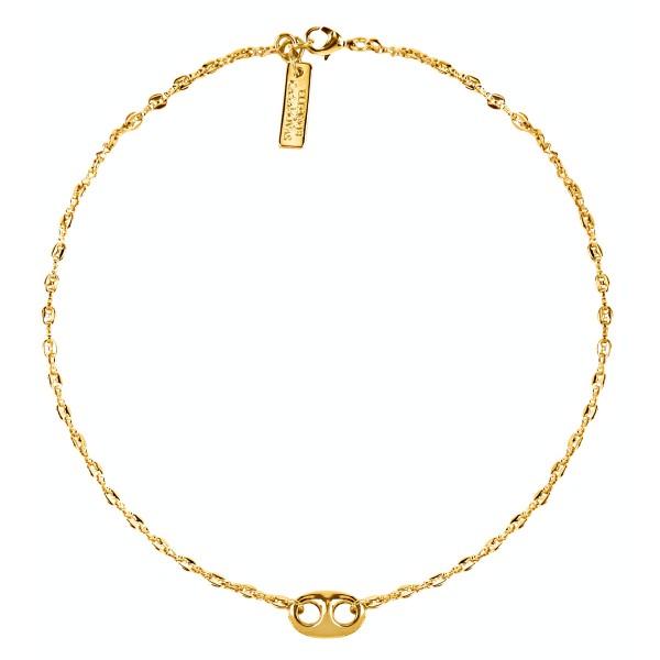 Hawk chain choker necklace
