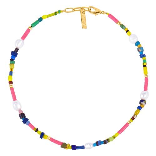 """Kampala Pink"" Necklace"
