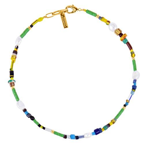 """Kampala Green"" Necklace"