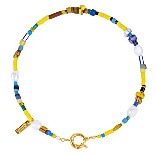 Kampala Yellow Necklace