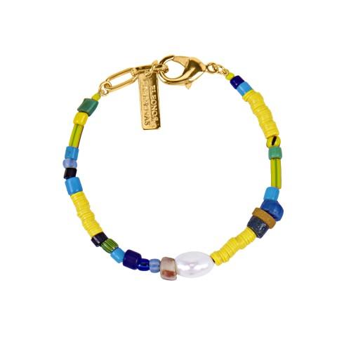 """Kampala Yellow"" bracelet"