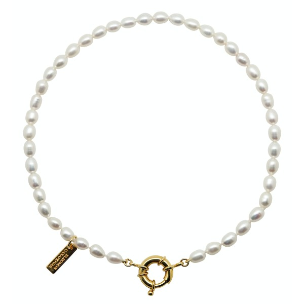 """""""My Baby Pearls"""" Necklace with Initial"""