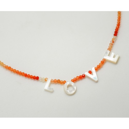 """""""My Name nacre"""" Necklace"""