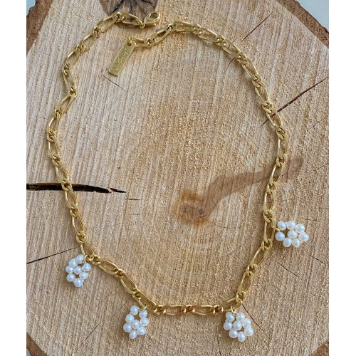 """""""Daisy Pearls"""" Necklace"""