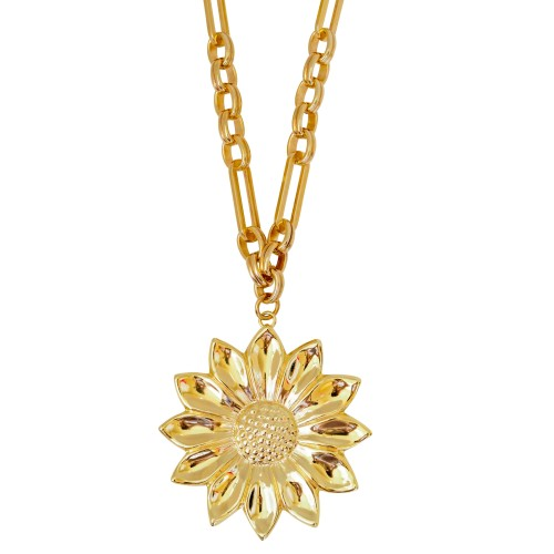 Golden Daisy Necklace