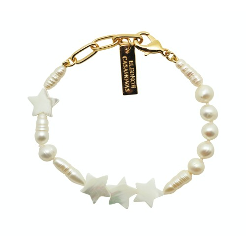 """Stars & Pearls"" bracelet"
