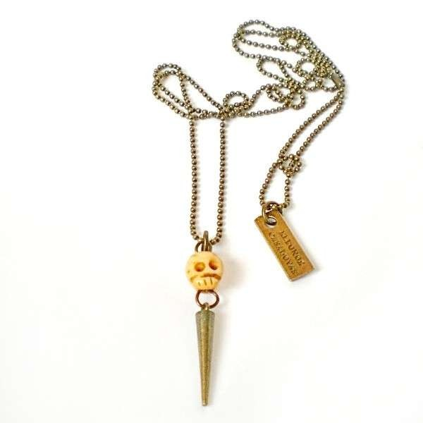 Baby Skull pendant with Spike